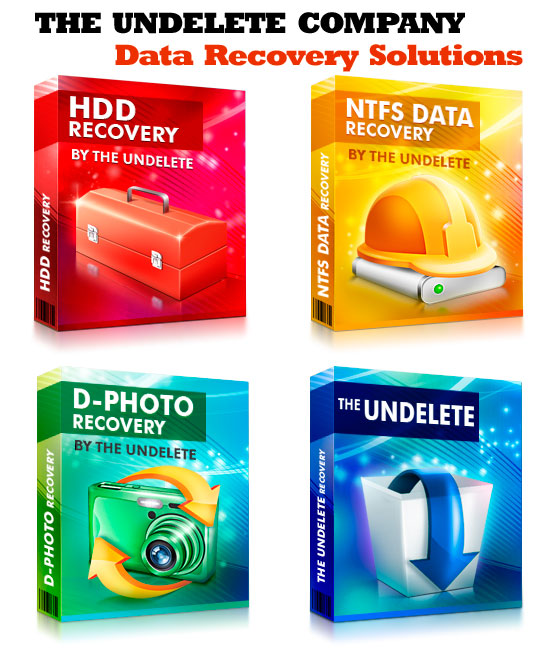 Data Recovery Software Products