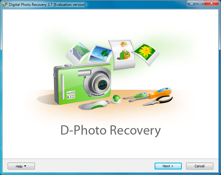 Recover deleted photos and digital pictures