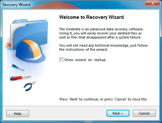 Automatically recover lost and deleted files and documents from NTFS, FAT drives
